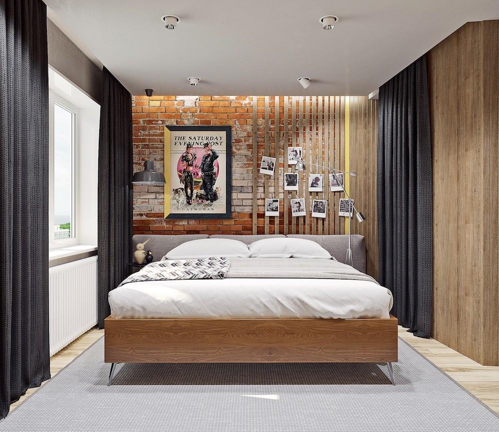 Прорезь в подшивном потолке сделана для шторы на скрытом карнизе