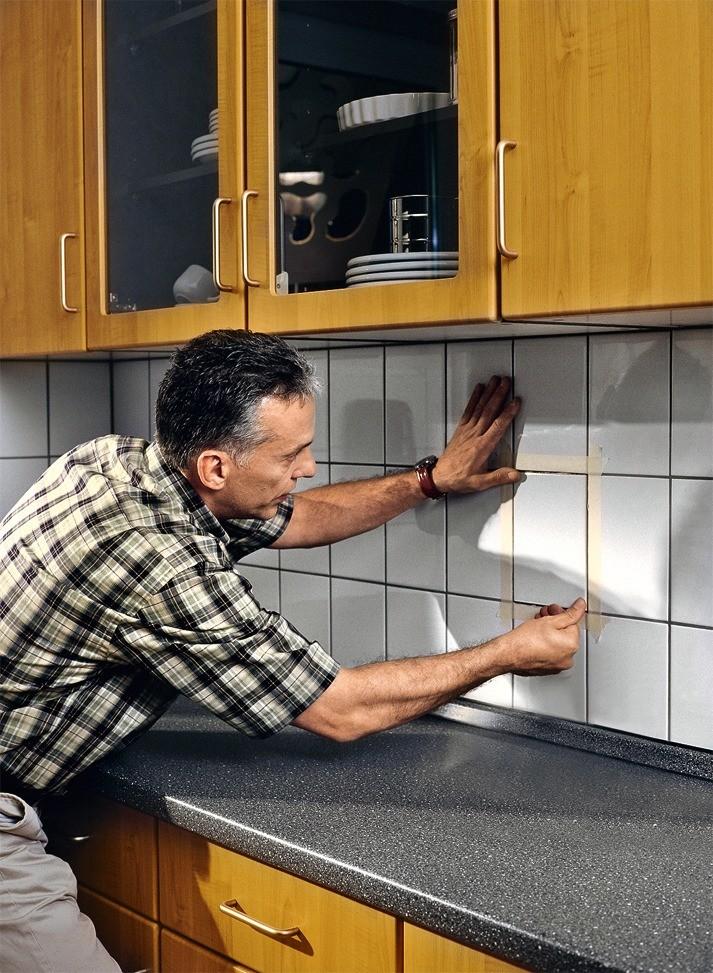 Как заменить одну плитку в облицовке