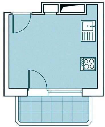Преимущества таких домов — повышенная теплоизоляция наружных трёхслойных панелей (суммарной толщиной 300 мм) и просторные кухни. Из недостатков отметим относительно небольшую высоту потол...