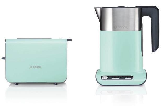 Bosch выпустила бытовую технику в модном мятном цвете