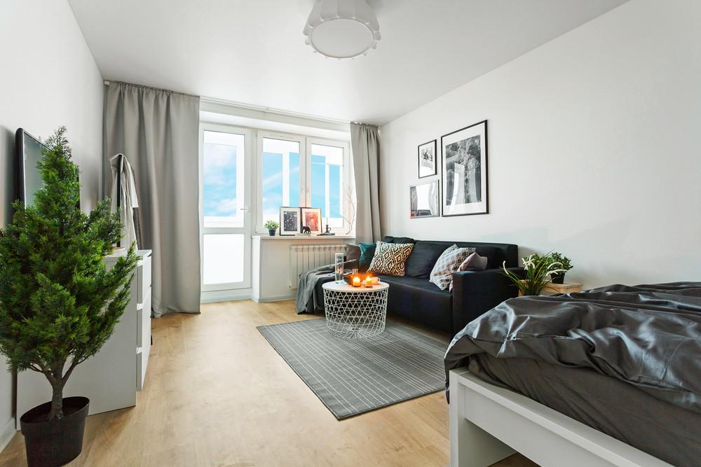 Бюджетно и стильно: скандинавский дизайн квартиры с мебелью из ИКЕА
