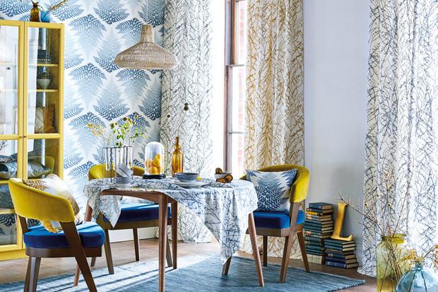 Дизайнер Кларисса Халс создала «ботаническую» коллекцию текстиля для дома