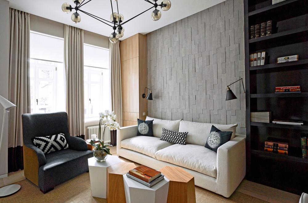 Дизайн маленькой двушки: функциональное и свободное пространство на 40 м²