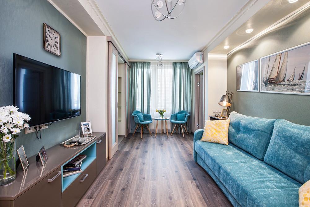 Квартира в стиле ретро: интерьер московской двушки в духе 1960-х годов