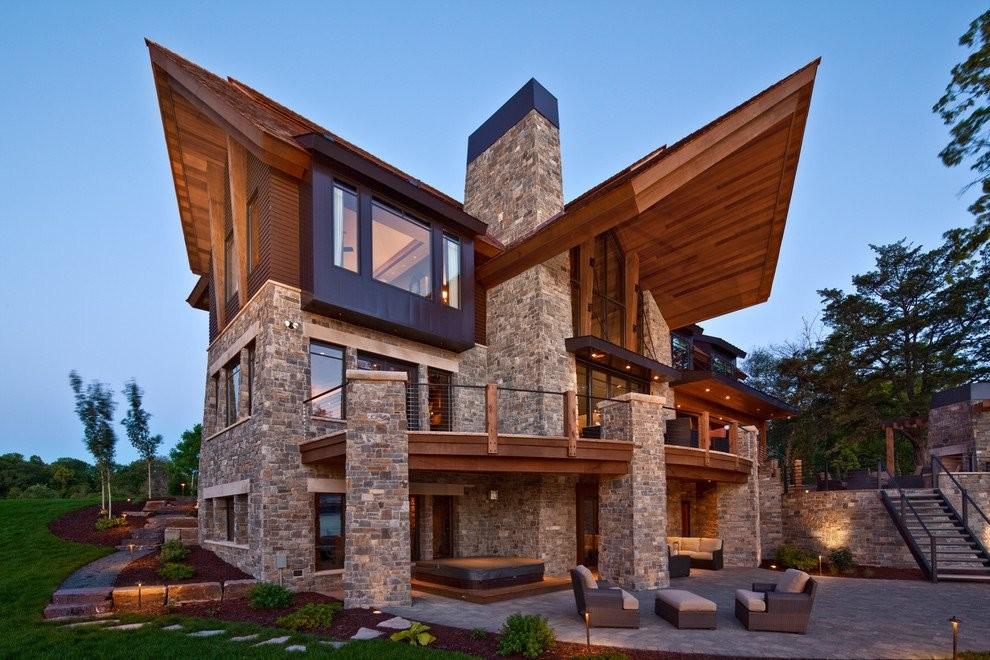 12 трендов в архитектуре скатных крыш