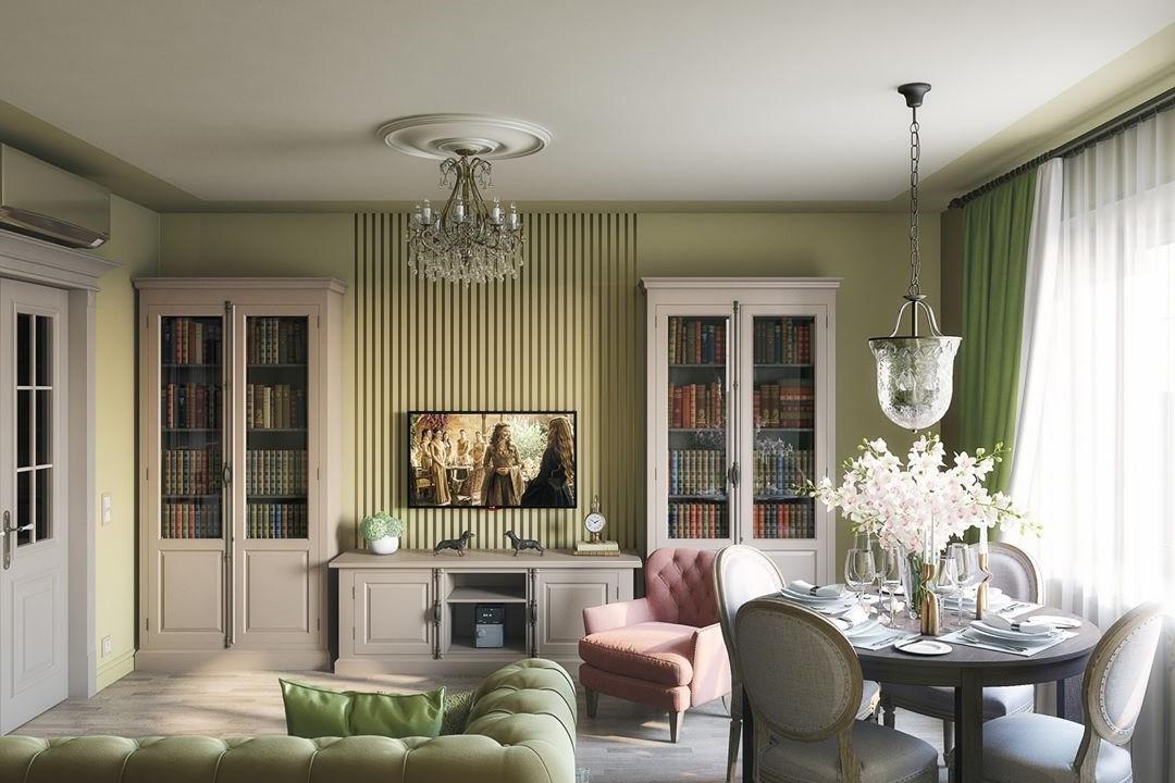 Современный интерьер гостиной комнаты: 50 стильных вариантов