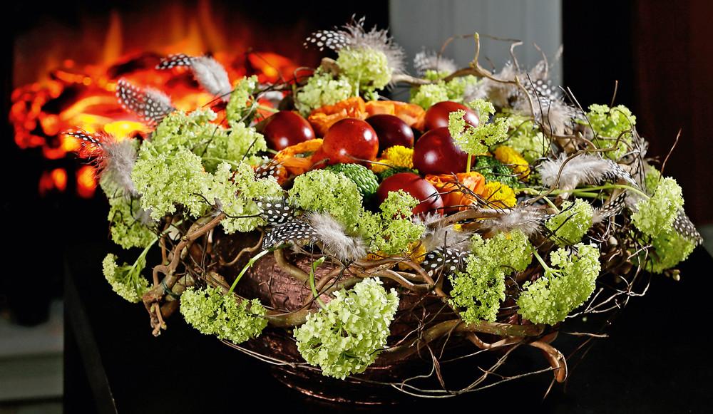 5 простых и красивых флористических композиций к Пасхе