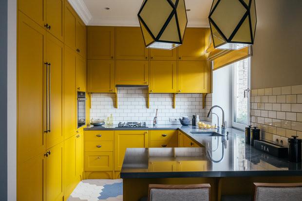 Дизайн маленькой кухни: 100 потрясающих примеров