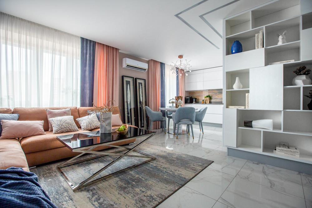 Светлая квартира, в которой соединились красота и функциональность