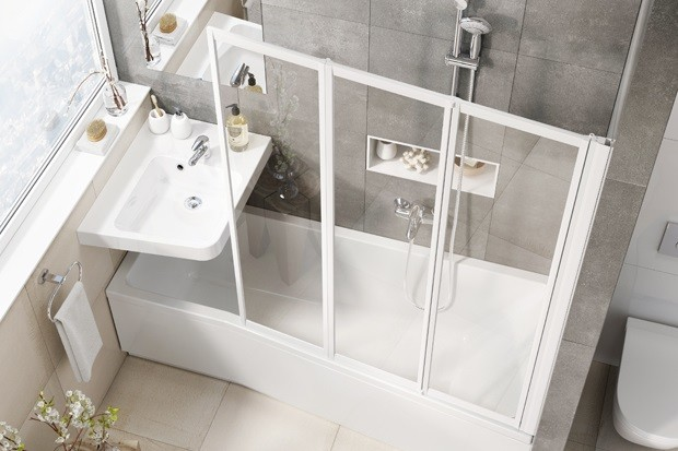 В продажу поступила новая сантехника для крошечных ванных