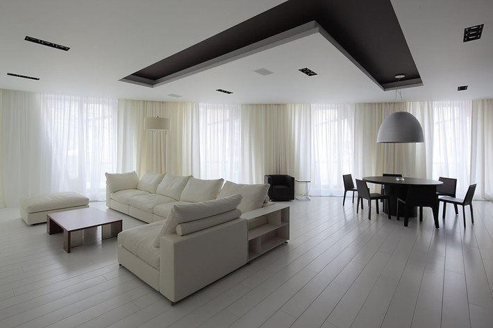8 ошибок в интерьере комнаты с низким потолком
