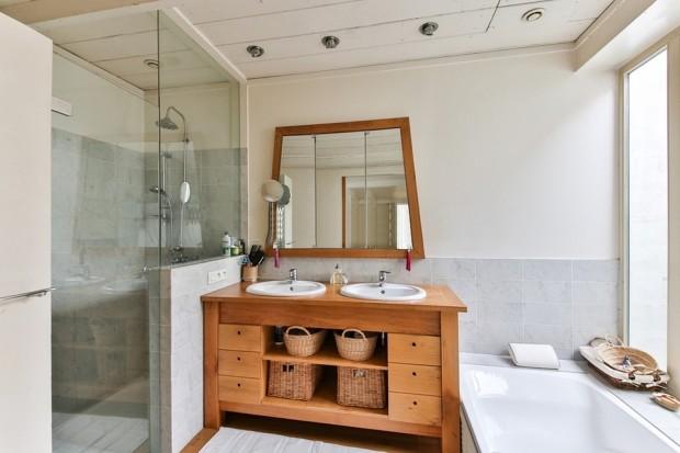 Ванная комната с душевой кабиной: 55 примеров обустройства