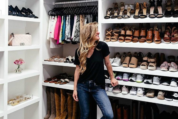 10 неожиданных решений для хранения женской обуви