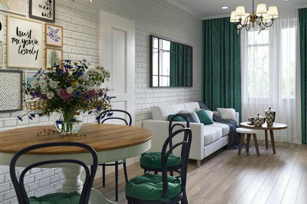 Как оформить интерьер гостиной комнаты площадью 18 квадратных метров: 6 решений