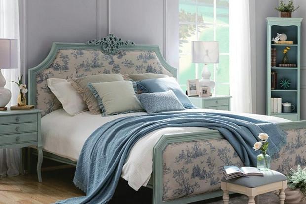 Интерьер спальни в стиле прованс: 7 способов создать его своими руками