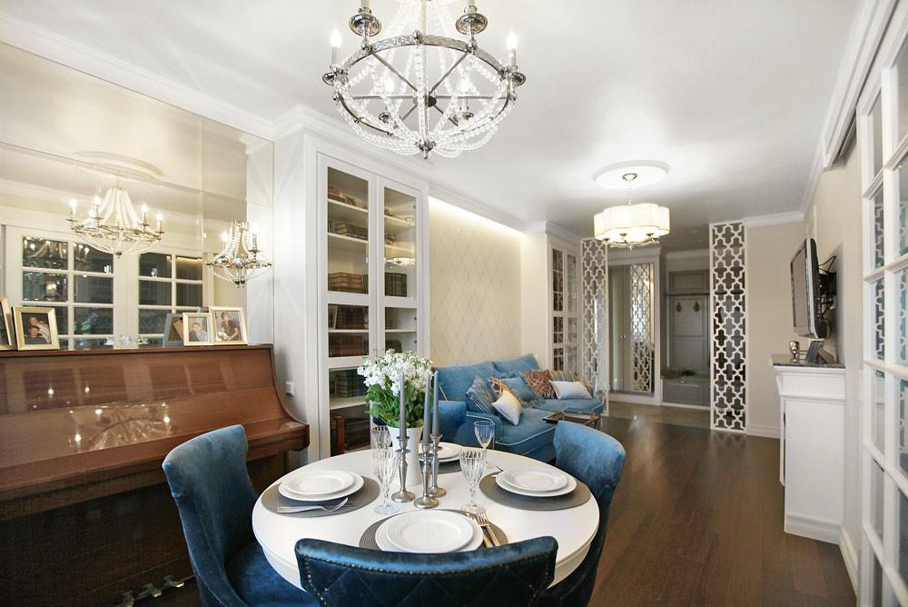 Трехкомнатная квартира для супругов в духе легкой современной классики