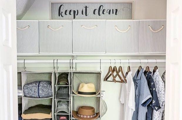 12 неожиданных идей для хранения в гардеробной