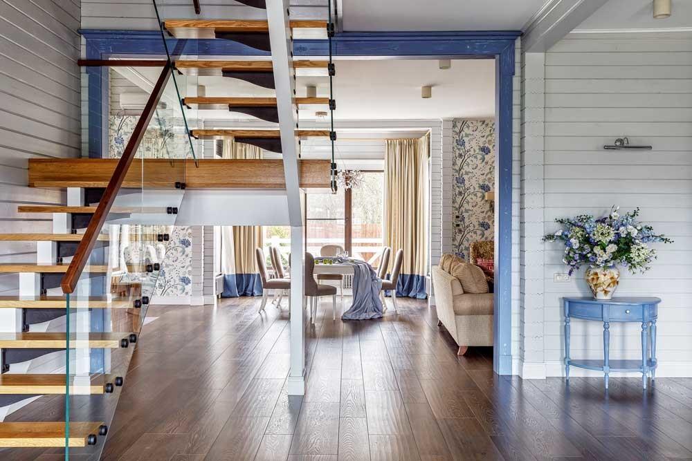 Дом в стиле французский прованс: красочный интерьер семейной резиденции