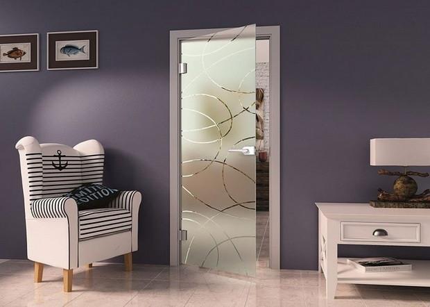 Гид по стеклянным дверям: виды, особенности монтажа, декорирования и ухода