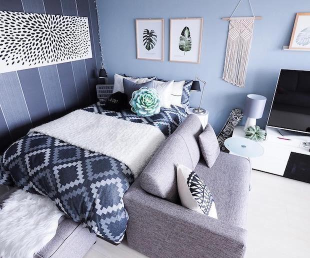 8 ярких цветов, которые сделают маленькую комнату визуально больше