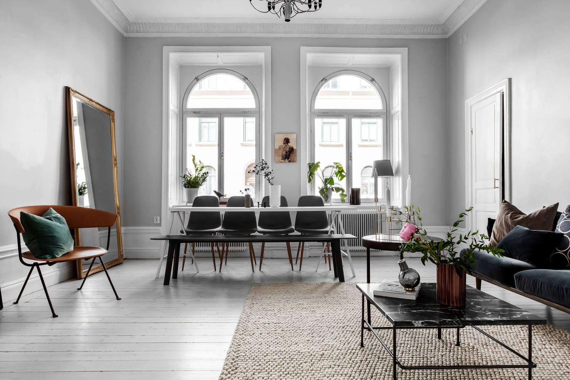 Как расставить стулья в обеденной зоне: 6 стильных примеров