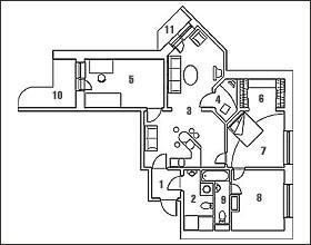 Перестраиваем новостройки: Квартира с тренажерным залом