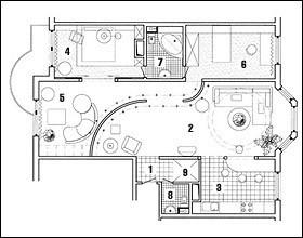 Серия П-3М: Дом с большой гостиной