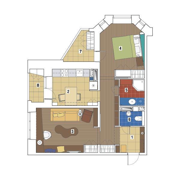Двухкомнатная квартира в доме серии И-79-99