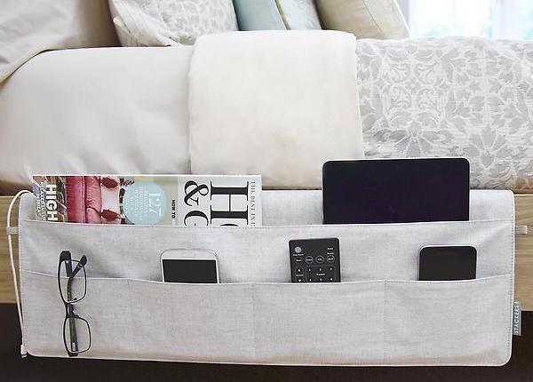10 лайфхаков, которые помогут сделать спальню более функциональной
