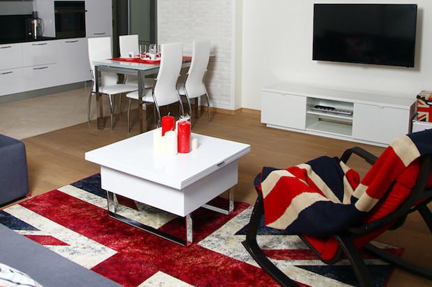 Интерьеры трёшки в стиле фьюжн: каждая комната со своим настроением