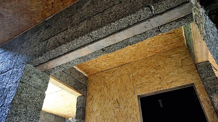 Но без бетонных перемычек не обойтись.