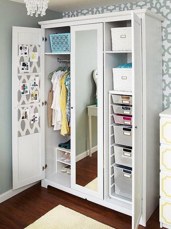 7 идеально организованных шкафов от настоящих перфекционистов