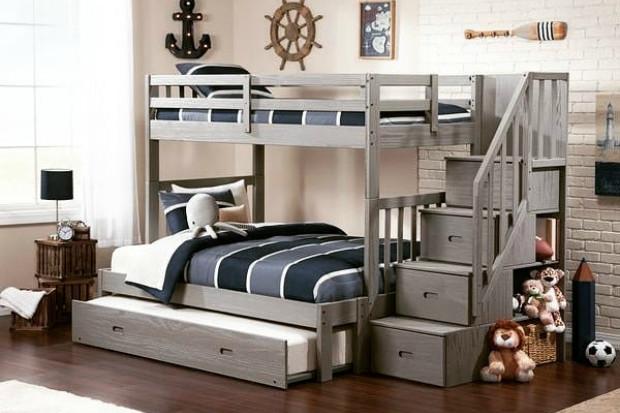 Детские двухъярусные кровати: основные типы, советы по выбору и 20 вариантов с фото