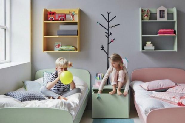 9 свежих идей для оформления комнаты разнополых детей