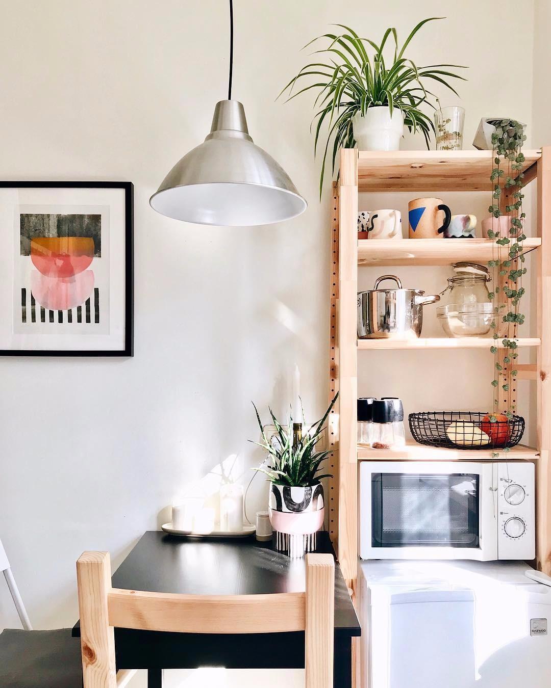 Дизайн-хак: как разместить в кухне микроволновку?