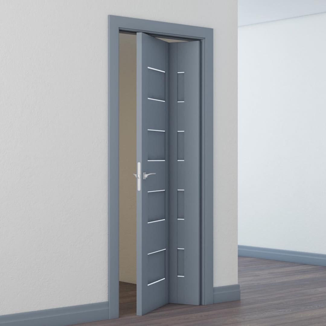 Дверь-гармошка удобна, оригина&...