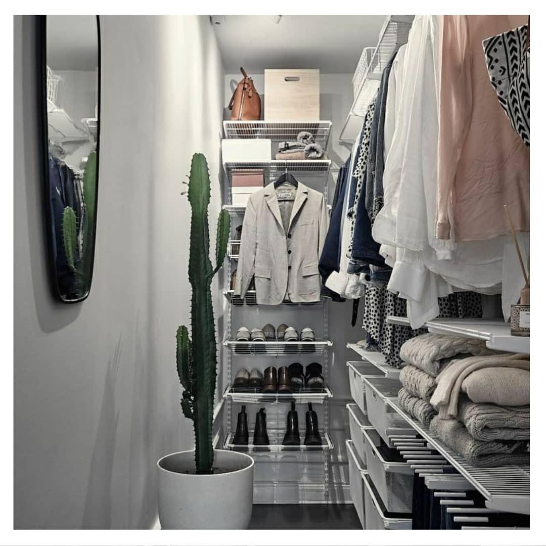 Даже крохотную гардеробную мо&#...