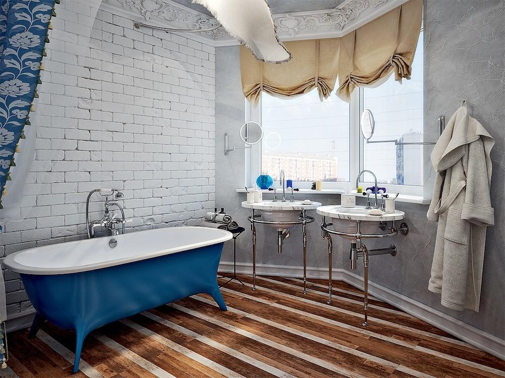 Белоснежная квартира для трёх поколений, оформленная в духе классического романтизма
