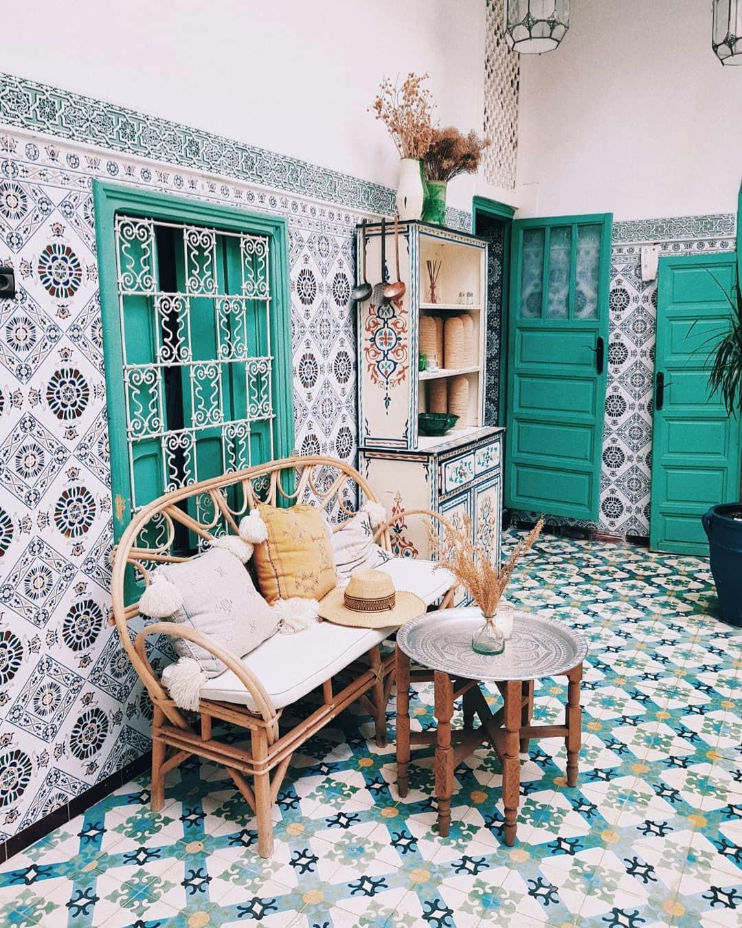 10 способов добавить детали модного марокканского стиля в интерьер