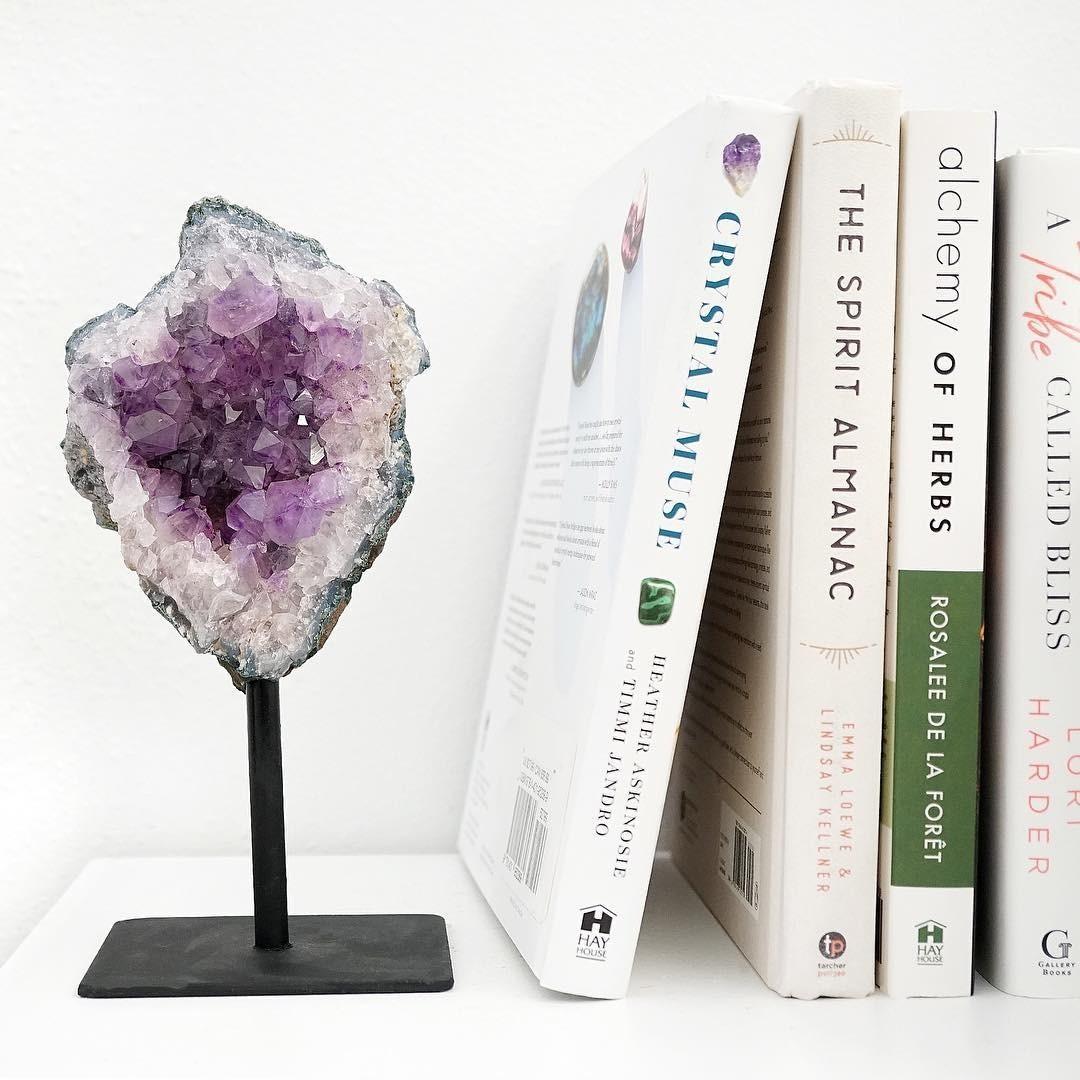 5 восхитительных способов использовать минералы в интерьере