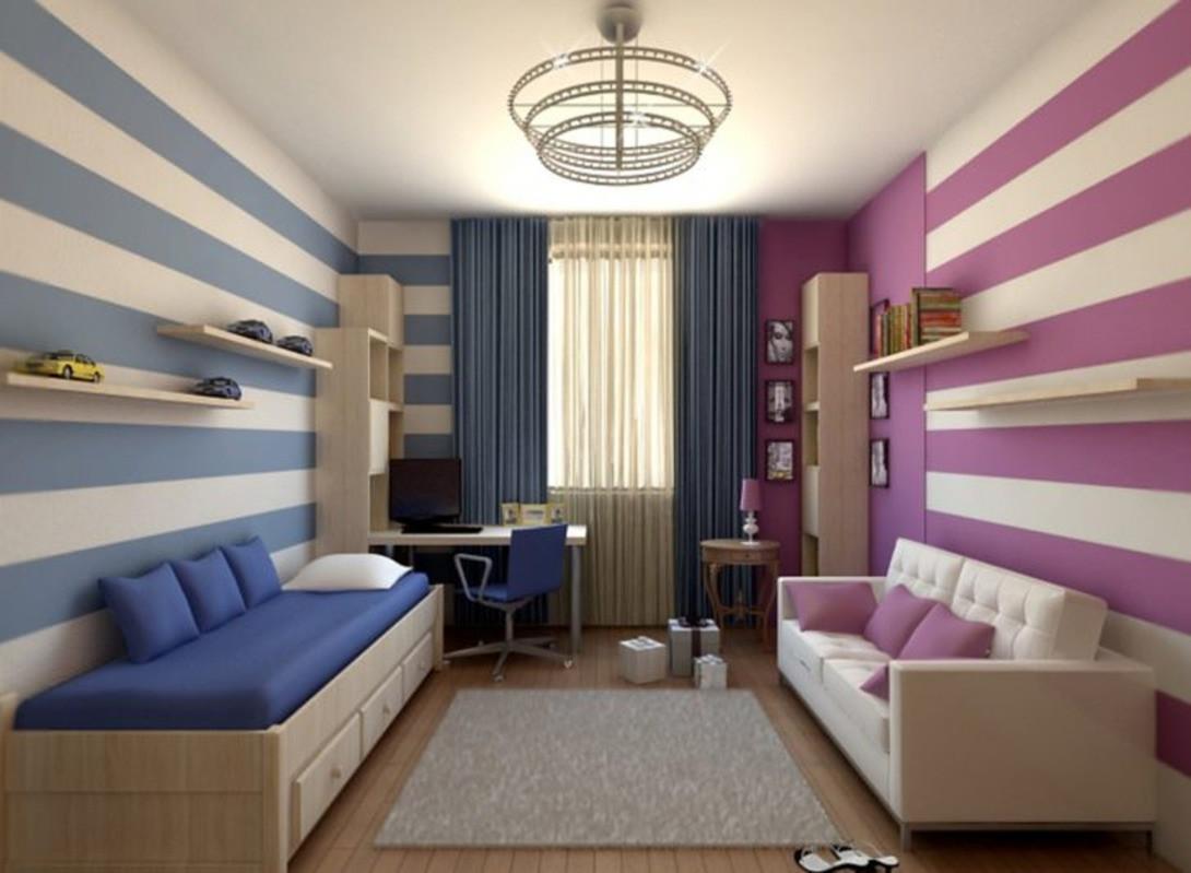 Обои в комнату для подростка (мальчика и девочки): какие лучше выбрать