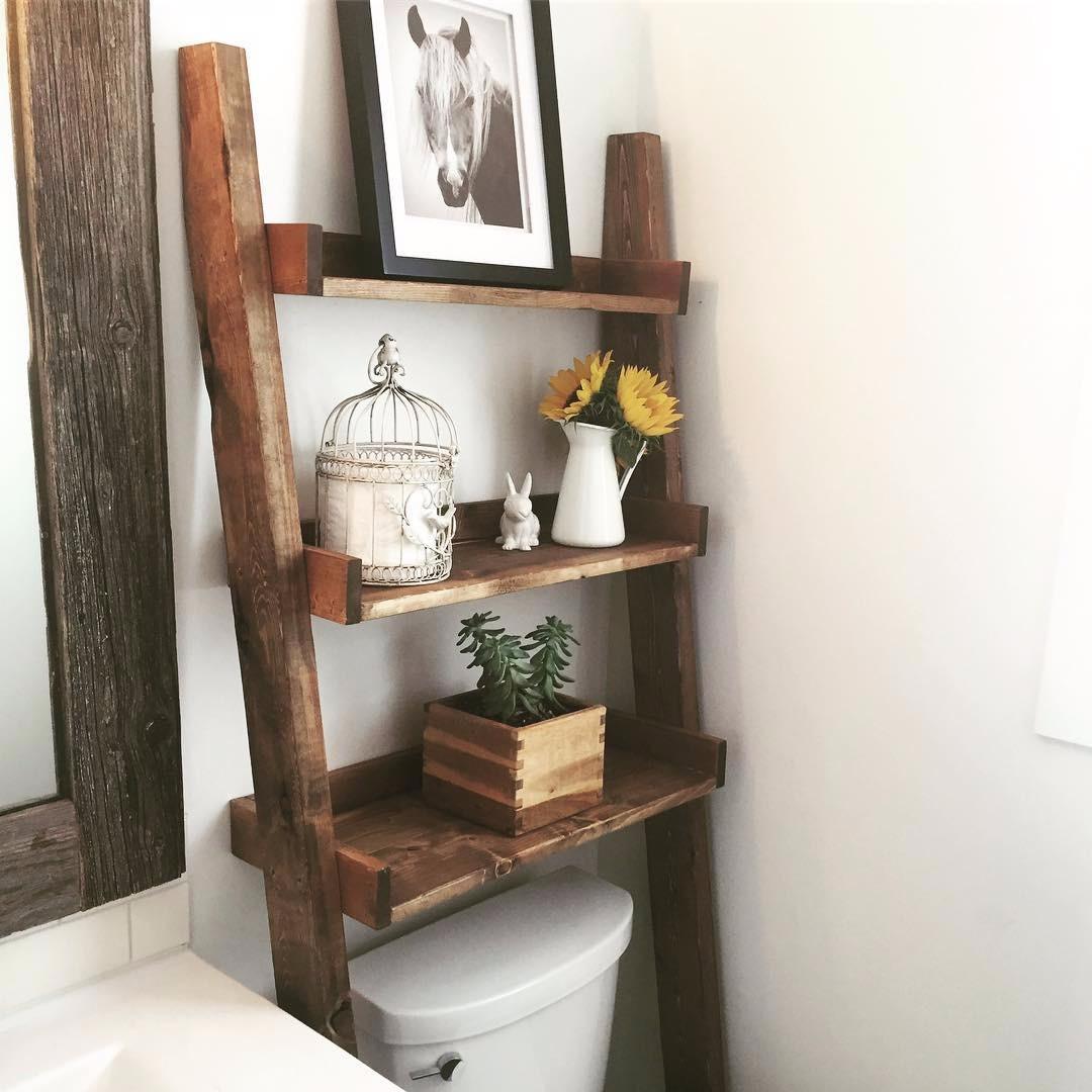 10 полок для маленьких ванных, которые вы тут же захотите себе
