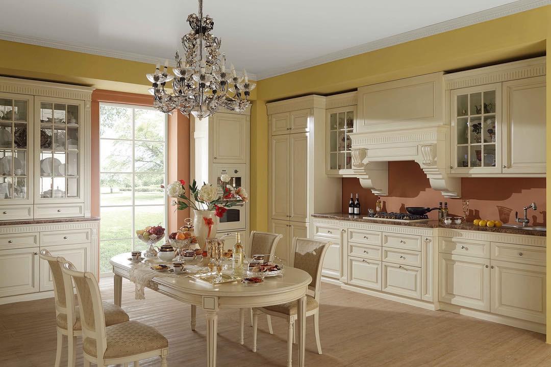 Кухня в стиле неоклассика: 70 вариантов дизайна с фото и советы по оформлению