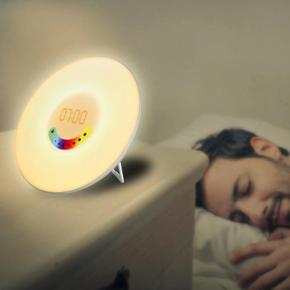 Будильник с подсветкой