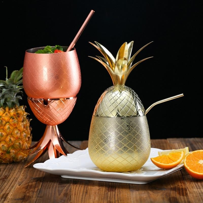 Стакан в виде ананаса
