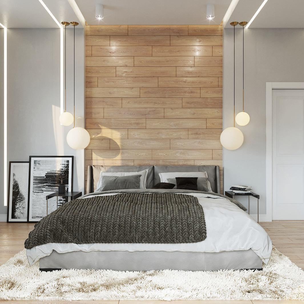 Ламинат на стене в интерьере: 70+ дизайн-идей