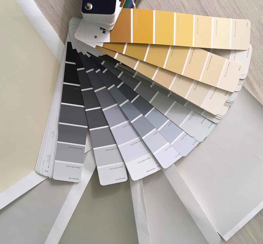 Вот так выглядят примеры цвета...