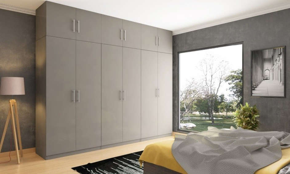 Как разместить угловой шкаф-купе в спальне: 45 фото удачных вариантов