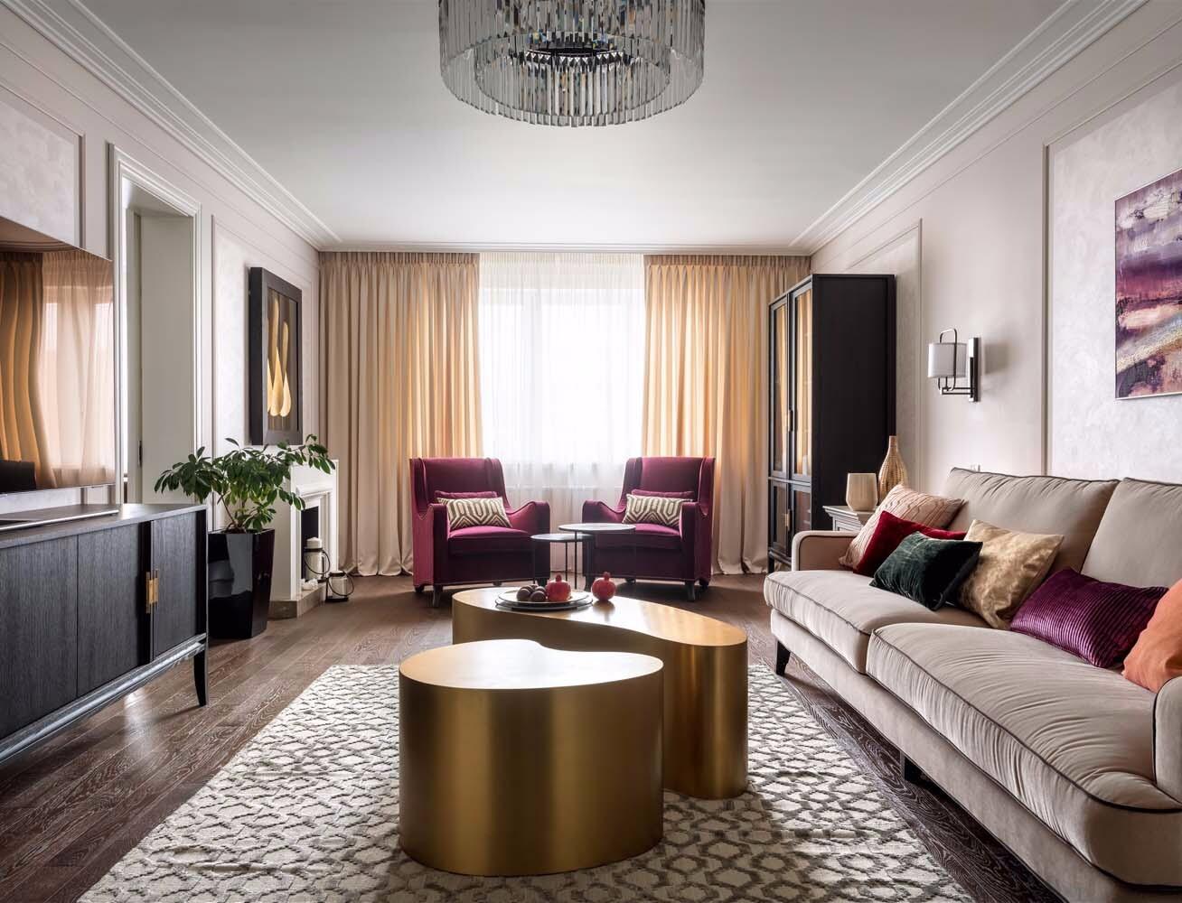 Из трёшки в четырехкомнатную квартиру: интерьер панельки со спальней на месте зимнего сада