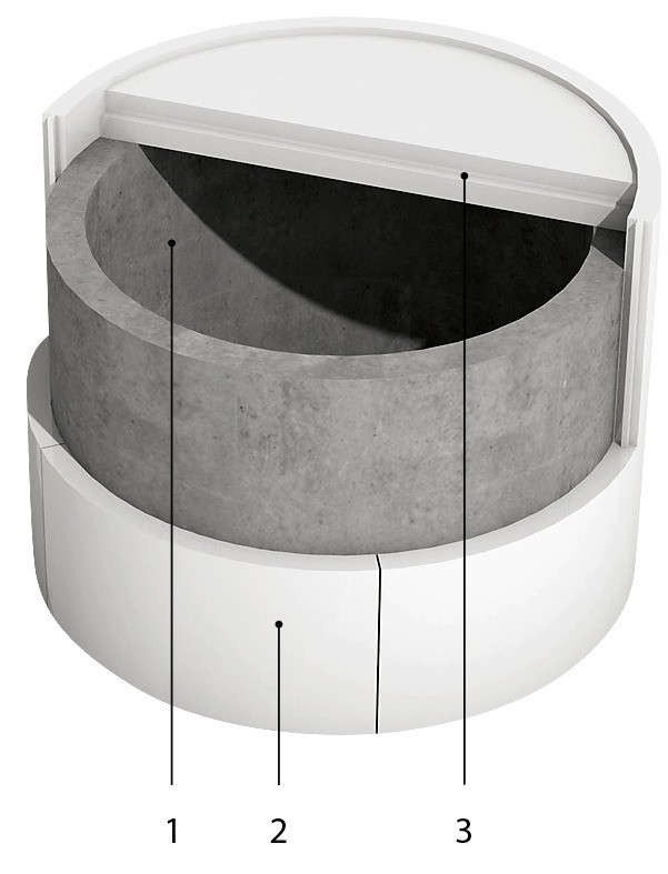 Вариант утепления бетонных  ко&...